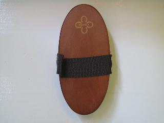 Dřevěný kartáč - středně hrubý