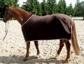 Odpocovací deka hnědá